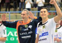 Nenad_Mijailovic / Luka_Kikanovic(c) HC Linz AG / Wolfgang Pichler